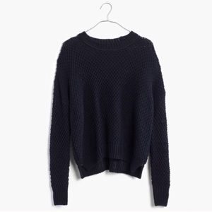 Madewell French Quarter Pullover Sweater, Navy